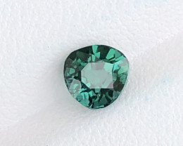 A beautiful Green Tourmaline 1.25 CTS Gem