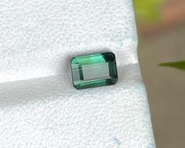 Top Blue Green Tourmaline 1.37 CTS Gem