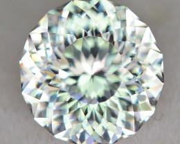 CUSTOM CUT - 1.78ct WHITE ZIRCON  - NIGERIA