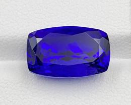 9.33 CT Tanzanite Gemstone Top color top luster