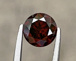 1.00 CT Diamond Gemstones Red color Top luster