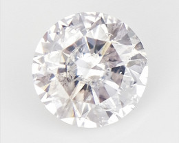 0.18 cts , very v Light Pink Natural Diamond  , Diamond for Jewelry