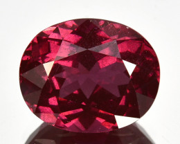 4.40 Cts Natural Pinkish Red Rhodolite Garnet Oval Mozambique