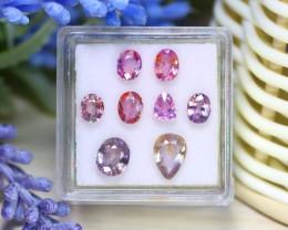Sapphire 3.94Ct Natural Ceylon Padparadscha Sapphire Lot Box A2925