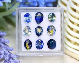 Sapphire 6.78Ct VS Natural Australian Parti Sapphire Lot Box A2928