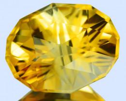 ~CUSTOM CUT~ 11.83 Cts Natural Golden Orange Citrine  Fancy Brazil