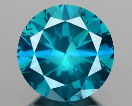 0.55 Ct Blue Diamond Top Class Vivid Color BD3
