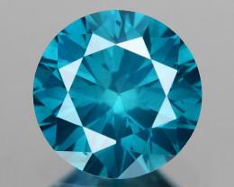 0.51 Ct Blue Diamond Top Class Vivid Color BD4