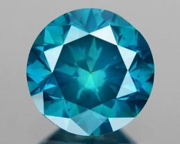 0.52 Ct Blue Diamond Top Class Vivid Color BD5