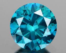 0.52 Ct Blue Diamond Top Class Vivid Color BD6