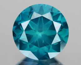0.53 Ct Blue Diamond Top Class Vivid Color BD11