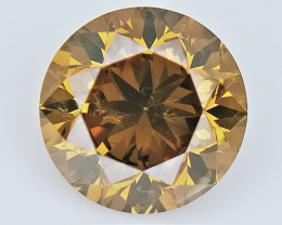 0.63 cts  ,  Fancy Colored Diamond , Loose Diamond Gemstone