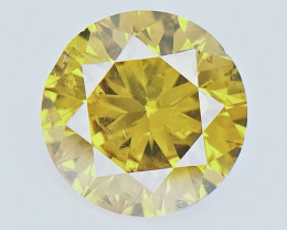 0.50 cts   , Rarest Colored Diamond , Loose Sparkling Diamond