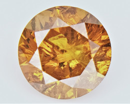 0.50 cts   , Loose Natural Diamond , Fancy Colored Diamond