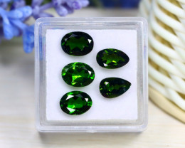 Chrome Diopside 5.31Ct VVS Natural Russian Chrome Diopside Lot B3023