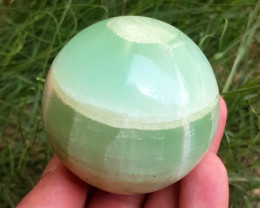 1450 CTs Beautiful Calcite Healing Sphere From Pakistan