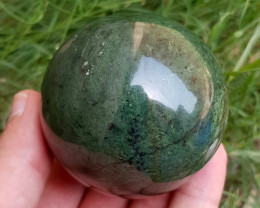 1677  Cts Beautiful Nephrite Healling Sphere From Pakistan