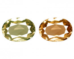 0.90 Cts Rare Color Changing Diaspore Natural Gemstone