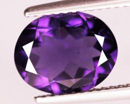 2.18 Cts Natural Purple Amethyst Loose Gemstone