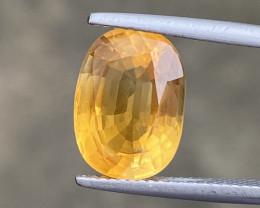 Natural Citrine 5.75 Cts Nice Color Gemstone