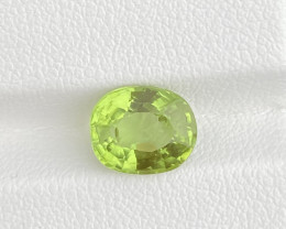 Natural Tourmaline 2.98 Cts Green Color Gemstone