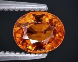 1.27 Crt Spessartite Garnet Faceted Gemstone (Rk-10)