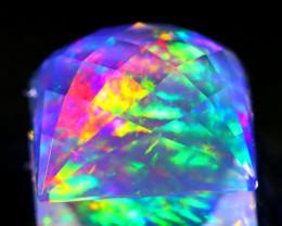 ContraLuz 4.84Ct Precision Cut Mexican Very Rare Species Opal A0126