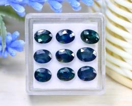 Sapphire 8.03Ct Oval Cut Natural Madagascar Blue Sapphire Lot Box A0136