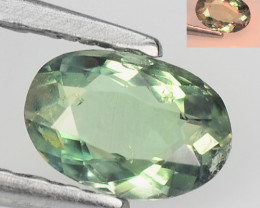 *NoReserve*Alexandrite 0.28 Cts  Color Change Green To Orange Natural