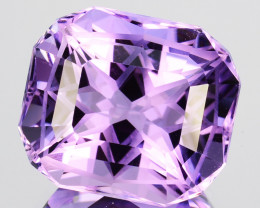 ~CUSTOM CUT~ 5.04 Cts Natural Purple Amethyst Fancy Cushion Bolivia