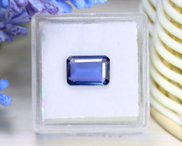 Tanzanite 2.65Ct VVS Octagon Cut Natural Unheated Tanzanite B0221