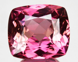4.28 Cts Natural Tourmaline Lovely Cushion Cut Mozambique