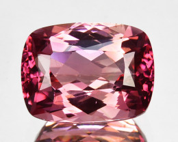 3.25 Cts Natural Pink Tourmaline Lovely Cushion Cut Mozambique
