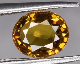 Top Yellow Sphene 0.785 CTS Gem