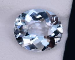 Ice Blue 2.55  ct Attractive Color Aquamarine Jewelry Piece