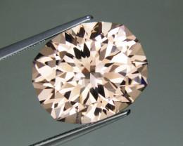 Morganite 13.98 ct Natural Peach Morganite Gemstone