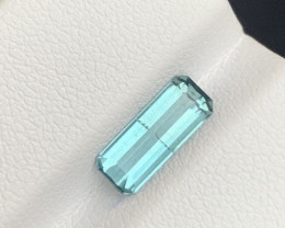 1.55 Carats blue colour Tourmaline Gemstone From  Afghanistan