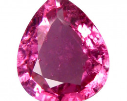 Tourmaline 1.55 Cts  Pink Portuguese cut BGC1983 | From Congo