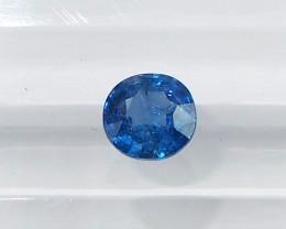 0.9ct natural unheated blue sapphire