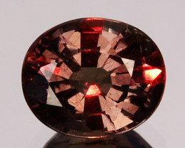 ~UNTREATED~ 0.66 Cts Natural Color Change Garnet Oval Tanzania