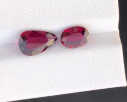 Natural Rhodolite Garnet, 4.85 carats.