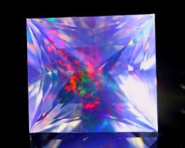 ContraLuz 3.99Ct Octagon Cut Mexican Very Rare Species Opal A0320