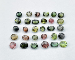 48.52 CT Tourmaline Gemstone fancy lot parcel 30 pc