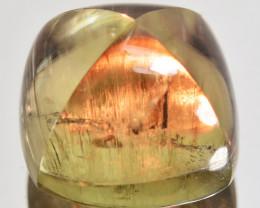 5.56 Cts Natural Color Change Diaspore Sugarloaf Cabochon Turkey Gem
