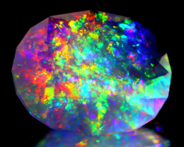 ContraLuz 9.03Ct Oval Cut Mexican Very Rare Species Opal A0333