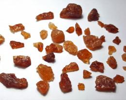 Amazing Natural color Spessartine gemmy quality Garnet Rough 100GB/1
