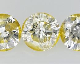 0.48  cts Round Brilliant Cut Diamonds