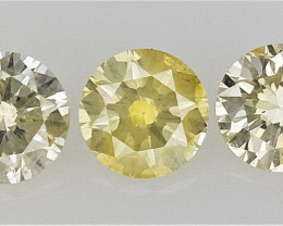 0.25 cts  Round Brilliant Cut Diamonds