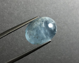 11.35 cts Natural Blue Aquamarine Gemstone   SKU : 99