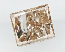 0.71 cts Princess Brilliant Cut Diamonds ;conflict free diamond,